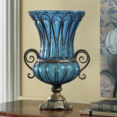 Trentino Captured Glass Vase