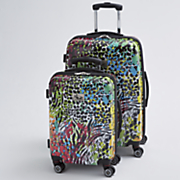 2 pc  color luggage set