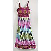 artisan tie dye dress