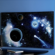 outer space light up canvas art
