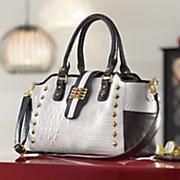 chelsie satchel bag by marc chantal