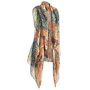 paisley scarf vest