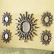 5 pc  starburst mirror set