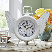 time flies table clock