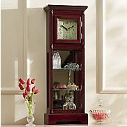 mini grandfather curio clock