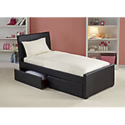 Curved Storage Bed