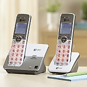 2 Handset Cordless Phone System by At&T