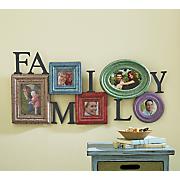 Colorful 5-Slot Family Photo Holder