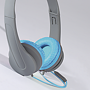 headphone with microphone by sharper image