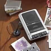 shoebox style cassette player recorder by jensen