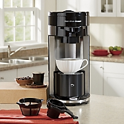 flexbrew single serve coffeemaker by hamilton beach