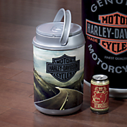 harley davidson mini can cooler by picnic time