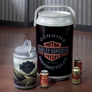 harley davidson large can cooler by picnic time