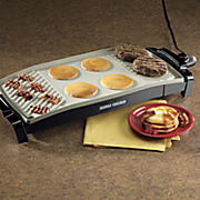 dual surface grill griddle by george foreman