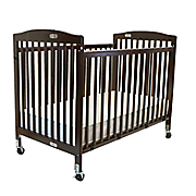 full size folding pocket crib by l a  baby