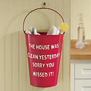 Cleaning Bucket Wall Art