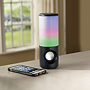 portable color changing speaker with bluetooth by ilive