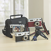 18 1 mp retro digital camera with bundle by polaroid