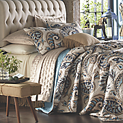 Kincardine Paisley Oversized Quilt and Sham