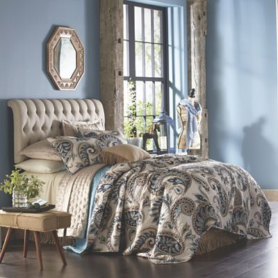 Kincardine Paisley Oversized Quilt And Sham From Through