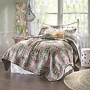 empress oversized quilt and sham