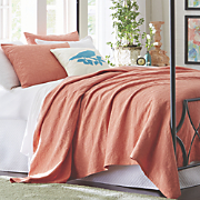 scroll matelasse coverlet set