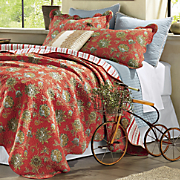 Jacobean Oversized Quilt and Sham