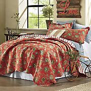 jacobean oversized quilt and sham