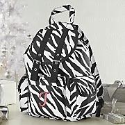 personalized zebra backpack