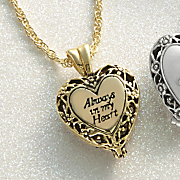 always in my heart locket