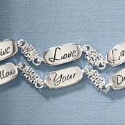 live laugh love follow your dreams bracelet