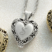personalized locket with urn