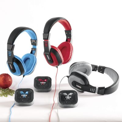 DJZ Ultra Plus Headphones and Earphones Combo by Naxa