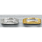 men s 2 row diamond wedding band