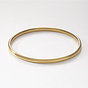 14k gold nano bangle