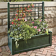 large trellis planter