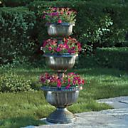 solar tiered planter