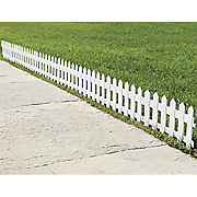 8 pc  picket garden fence