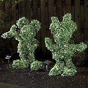 disney solar topiaries
