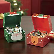 wind up miniature music box