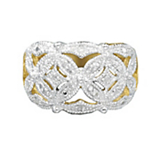 diamond cutout ring