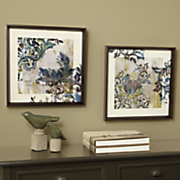 Set of 2 Abstract 3-D Wall Art