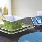 12 pc  mediterranean dinnerware set