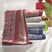 set of 3 bandana kitchen towels