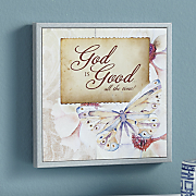 god is good wall plaque