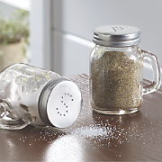 Mason Jar Salt & Pepper Shakers