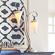 80 s style lantern table lamp