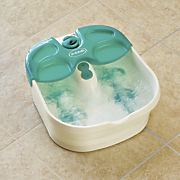 rolling massage foot spa by dr  scholl s