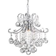 crystal balls hanging pendant lamp