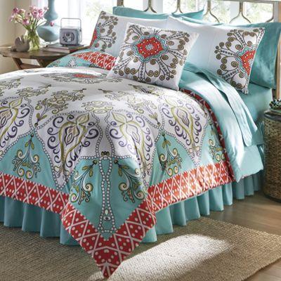 Capri Comforter Set and Pillow